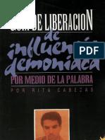 Guia de Liberacion de Influencia Demoniaca - Rita Cabezas