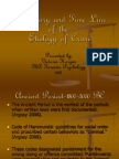 A History and Time Line of the Etiology of Criminology