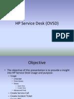 HP Service Desk