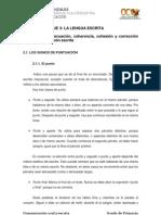Bloque III. Tema 2. Adecuacion Coherencia Cohesion y Correccion en La Expresion Escrita