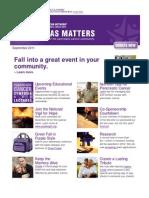Pancreas Matters September2011