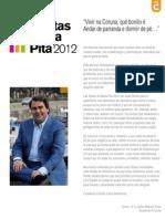 Programa de Fiestas María Pita 2012