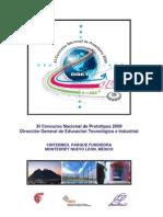 "XI Concurso Nacional de Prototipos 2009 ""DGETI"""