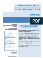 Reporte N°100 - Junio_2012