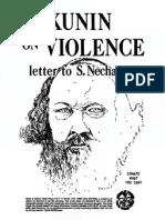 Bakunin on Violence Read