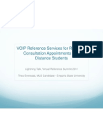 VOIP Reference Services