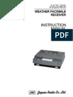 JAX-9B Instruction Manual