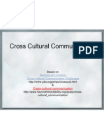 Cross Cultural Communication Intro