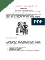 ORATÓRIA - Comunicação - Comportamento Social - Etiqueta