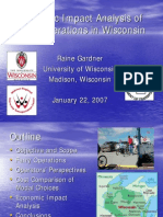 Economic Impact Analysis of Ferry Operations in Wisconsin