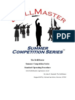 DrillMaster Competition SOP