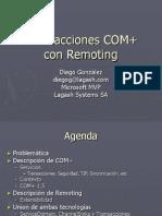 TransaccionesCOM+conRemoting