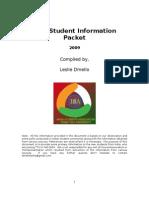 NewStudentInformation-2009
