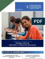 Ensayo Oficial PSU Historia 2011