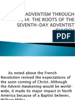 2. Millerite Adventism Through 1844