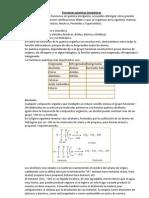 Funciones en químicas inorgánicas