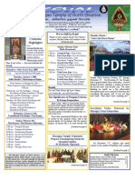 Murugan Temple Newsletter - January, February, March 2009