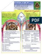 Murugan Temple Newsletter - April, May, June 2009