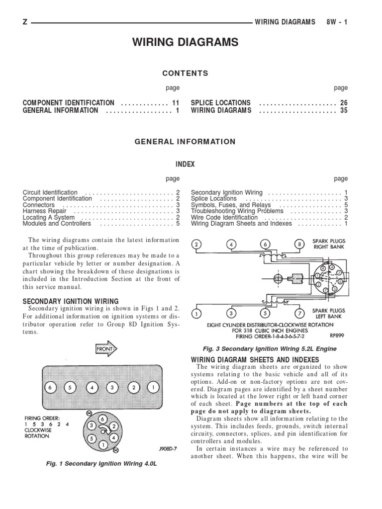 Jeep Wiring diagrams | Anti Lock Braking System | Electrical Connector
