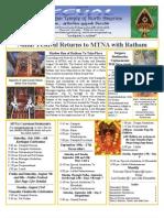 Murugan Temple Newsletter - July, August, September 2009
