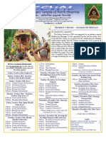 Murugan Temple Newsletter - October, November, December 2009