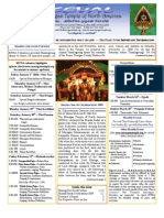 Murugan Temple Newsletter - January, February, March 2010