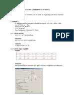 Analisis Con Elementos Shell