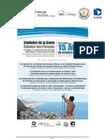 Convocatoria Congreso Ciudades de la Gente, Río de Janeiro Octubre 2012