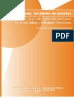 transparencia, rendición de cuentas y construcción de confianza mexico