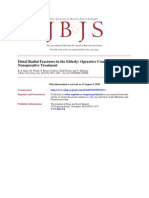 Distal Radial Fractures in the Elderly