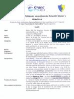 Convocatoria 3a. Etapa Club Deportivo Potosino, SLP