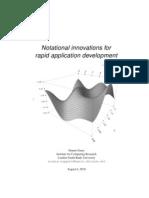 Ursala - Notational Innovations for Rapid Application Development