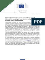 Νέα έρευνα της Ευρωπαϊκής Επιτροπής για τη Microsoft