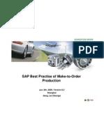 SAP Best Practise of Make-To-Order Production(Schaeffler)