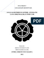 Laporan Final Project Switch Distribusi Listrik Otomatis Melalui Usb