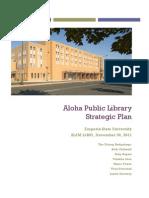 Public Library Strategic Plan