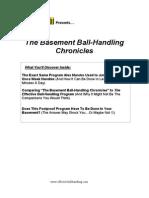 Basement Ballhandling Chronicles