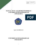 Manual Mutu Ums