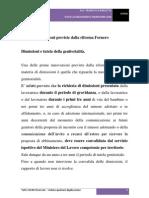 Le Nuove Dimissioni Previste Dalla Riforma Fornero