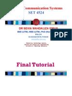 SET4523 Final Tutorial