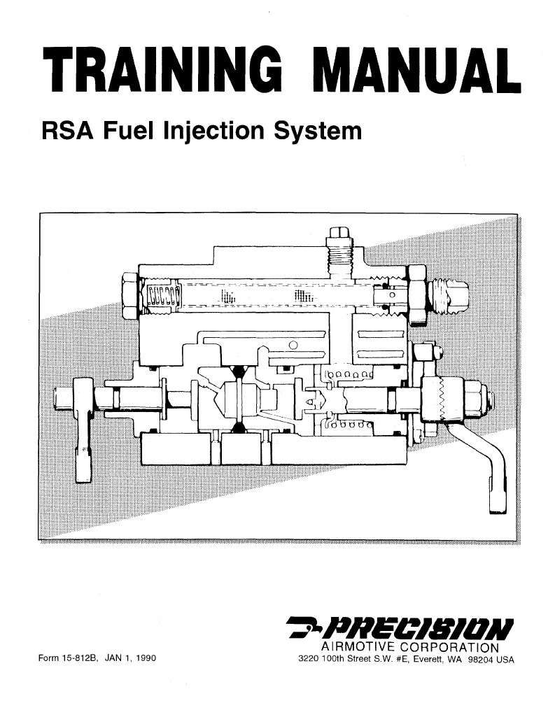 Bendix Fuel Injection Training Manual 15 812 B Filters
