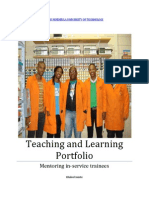 Teaching and Learning Portfolio Final