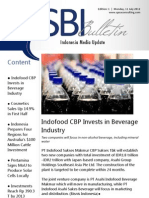 Strategic Business Insight E-bulletin - 1