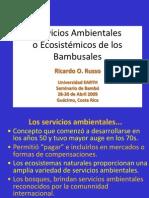 Servicios Ambientaleso Ecosistémicos de los Bambusales