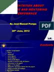 Advising and Mentoring Presentation; June 28, 2012