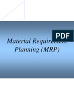 Material Requirement Planning Presentation