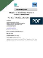Proposal GovtPolicies