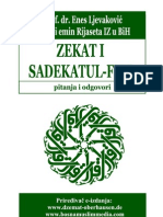 Zekat i sadekatul-fitr - pitanja i odgovori - dr. Enes Ljevaković