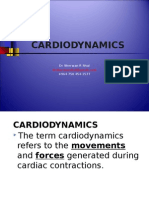 Cardiovascular system Physiology, Lecture 2 ( Cardiodynamics)