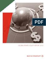 Bain Co Global PE Report 2012